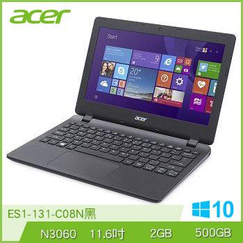 ACER ES1-131 N3060 500G 輕巧文書筆電