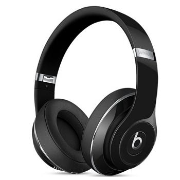 Beats Studio Wireless 頭戴式耳機 - 亮黑