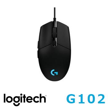 羅技G102 PRODIGY有線遊戲滑鼠