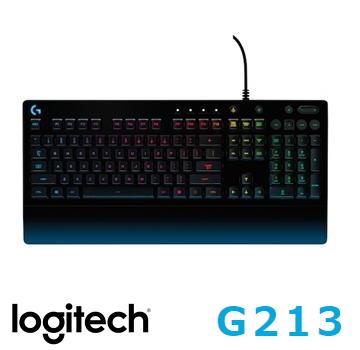 羅技G213 PRODIGY RGB遊戲鍵盤