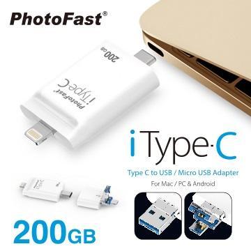 【200G】PhotoFast iTypeC 雙頭龍