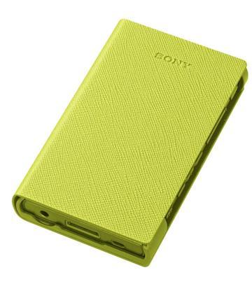 SONY A35/A36 MP3專用皮套(黃)