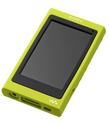 SONY A35/A36 MP3矽膠保護套(黃)