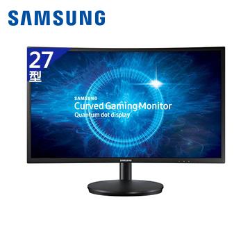 【27型】SAMSUNG CFG70電競曲面液晶顯示器