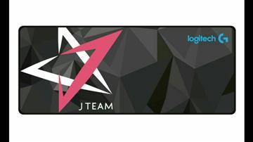 贈品-羅技J-Team全區電競滑鼠墊