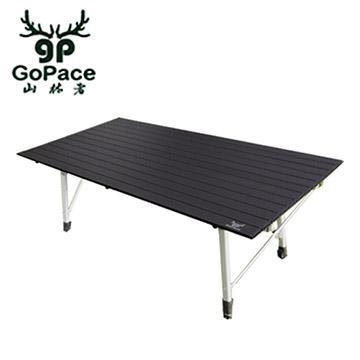 GoPace山林者 黑金鋼巨人蛋捲桌2入組