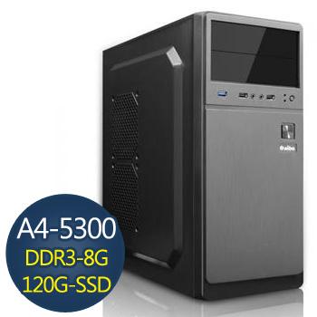 [極地奇蹟]-技嘉A4 5300平台組裝電腦