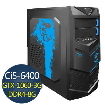 [火焰鬥士]-華碩H110平台組裝電腦