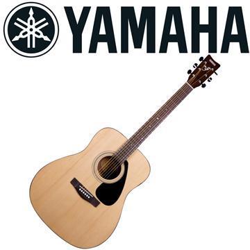 YAMAHA 標準41吋民謠吉他套裝組-原木
