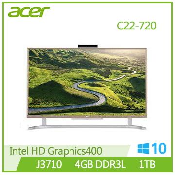 Acer C22-720 J3710 桌上型電腦