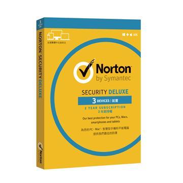 諾頓網路安全入門版 3台電腦2年版(盒裝版)