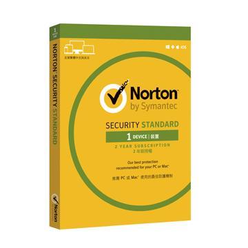 諾頓網路安全入門版 1台電腦2年版(盒裝版)