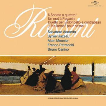 羅西尼弦樂奏鳴曲-阿卡多(黑膠唱片)