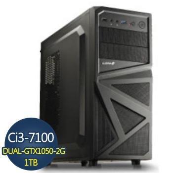 [黑武士]-華碩第7代H110平台組裝電腦