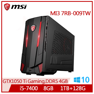 MSI MI3 Ci5-7400 GTX1050 桌上型電腦