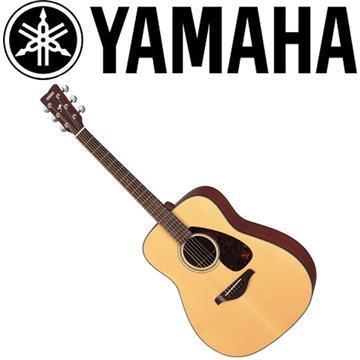 YAMAHA 41吋民謠吉他-原木亮面