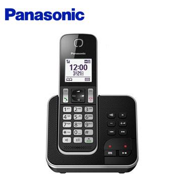 Panasonic中文顯示數位答錄無線電話