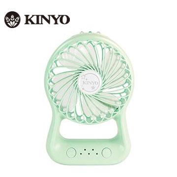 KINYO 4吋手持造型小風扇