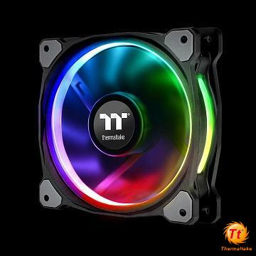 曜越Riing Plus 12 RGB水冷排風扇