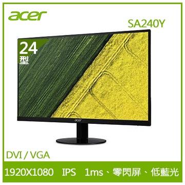 【24型】ACER SA240Y IPS液晶顯示器