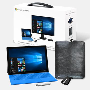 【128G】微軟Surface Pro 4 i5(商務特仕包)