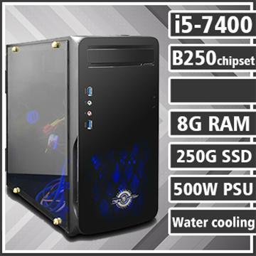[武裝戰神] - 七代Ci5水冷B250平台組裝電腦(電競SSD)