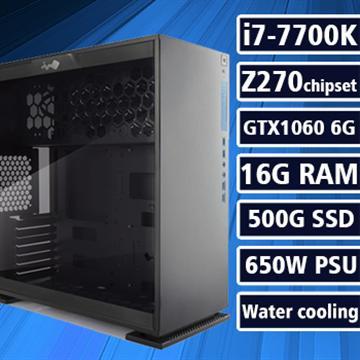 [沙漠之鷹] - 七代K版Ci7水冷Z270平台GTX1060獨顯組裝電腦(電競SSD)