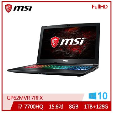 MSI GP62MVR Ci7 GTX1060 電競獨顯筆電