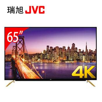 JVC 65型4K智慧聯網顯示器+視訊盒