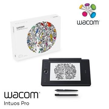Wacom Intuos Pro M雙功能創意觸控繪圖板