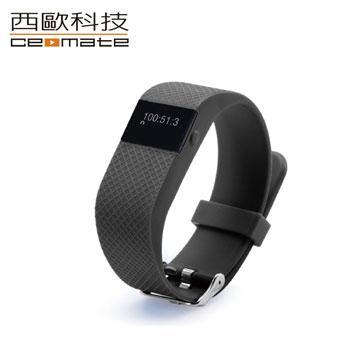 CME-X8-H10 藍芽健康智能心率手環-黑