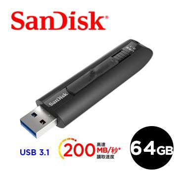 【64G】SanDisk CZ800 隨身碟200MB/S
