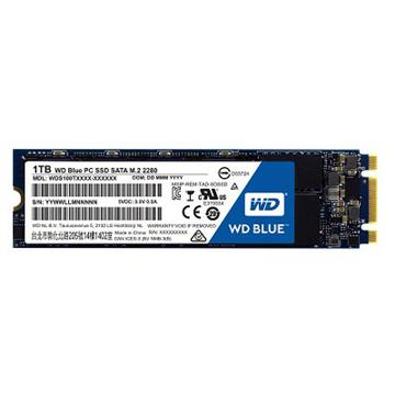 【1TB】WD SSD Blue系列-M.2 2280 SSD(SATA3)