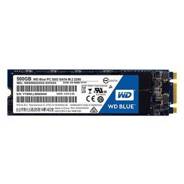 【500G】WD SSD Blue系列-M.2 2280 SSD(SATA3)