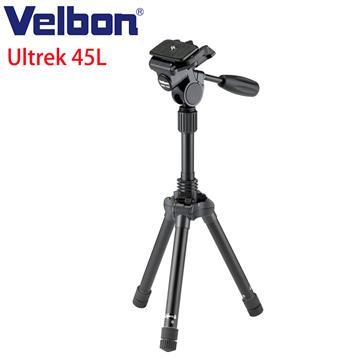 Velbon Ultrek 45L偏心管手把式反折腳架組