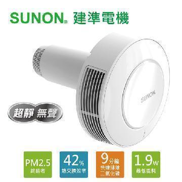 SUNON 雙流新風機Flow2One 21-24cm