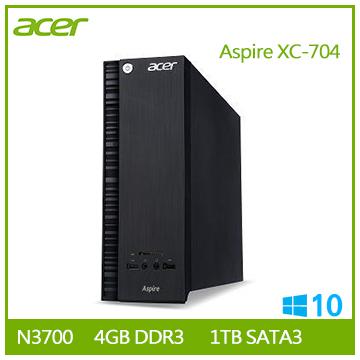【福利品】Acer Aspire XC-704 N3700 桌上型主機