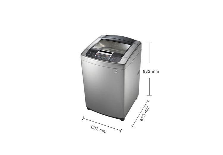 lg 13公斤 6-motion ddd变频洗衣机(wt-d130pg)