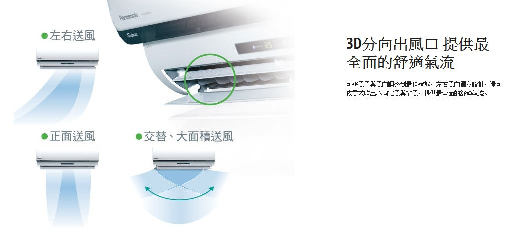 panasonic eco navi一对一变频冷暖空调(cu-lx28ha2(室外供电))